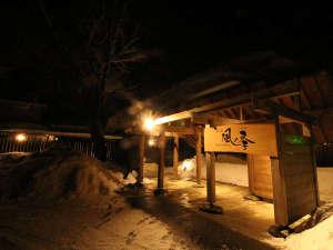 冬のライトアップ 雪Ver.