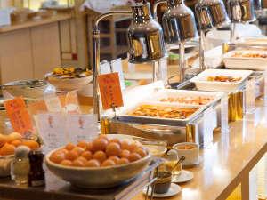 和洋朝食バイキング料理一例