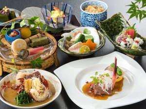 得々プラン 日本料理《竹の家》料理一例