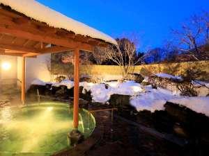 【星見の湯】満天の星空を眺めながら雪見風呂もお楽しみいただけます