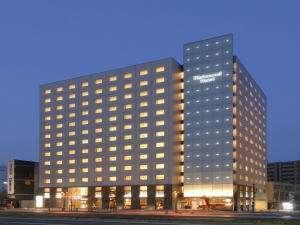 リッチモンドホテル福岡天神外観(夜)
