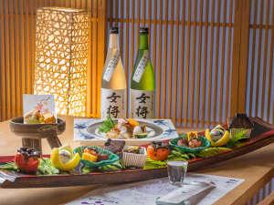 ■第29回技能グランプリの日本料理部門で銀賞を獲得した部谷保総料理長のお料理をお楽しみください。