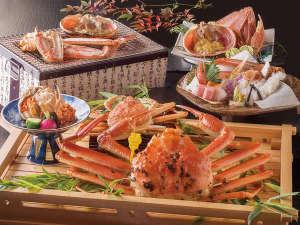蟹三昧懐石一例