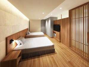 【禁煙】ユニバーサルデザインルーム 洋室のイメージ