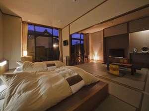 【しおさい】和風ベッド台はベッド3つまで対応可。