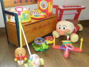 乳幼児用のおもちゃ、お部屋でもキッズル-ムでも