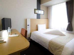 ひつじダブルエコノミー■快眠をテーマにした特別なお部屋。140cm幅ベッド。加湿空気清浄機を備え付け