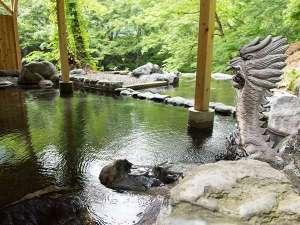 【大龍】貸切だから周りを気にせず景色も温泉も楽しめます♪泉質が抜群!入浴後のすべすべ感が違います♪
