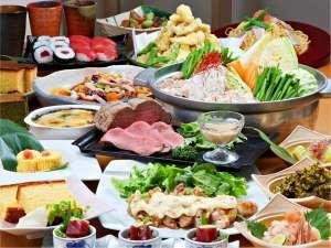 うまかもんフェア!九州の名物料理と地元高島の地産料理のコラボレーション。