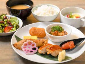 朝食セットメニュー(サンプル)