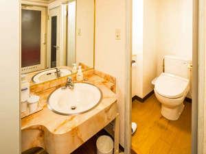 「ダブル・スタンダードツイン・DXツイン」はバス・トイレ・洗面台別の癒しの空間♪