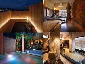 歴史ある温泉と趣きのちがう露天風呂を満喫下さいませ。