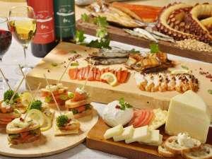 ◆自家製チーズ&海鮮燻製