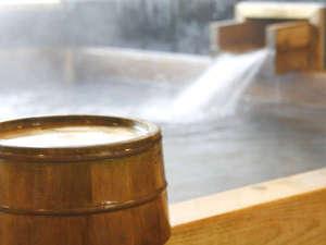 【檜風呂】ほのかな檜の香りは癒し効果◎