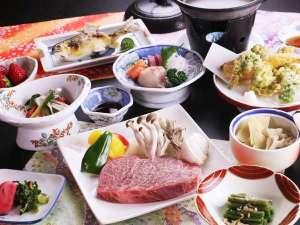 ■【ご夕食一例】食三昧!主役の尾花沢牛と女将特製のおもてなし料理