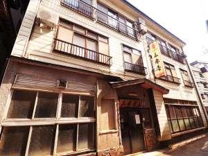 ■【本館 外観】「おかえりなさい」こちらが本日の宿、三春屋旅館です!