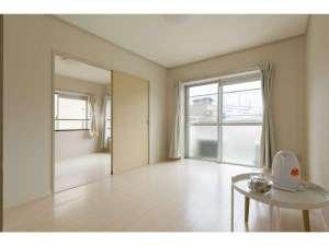 302部屋(45平米)bedroom2