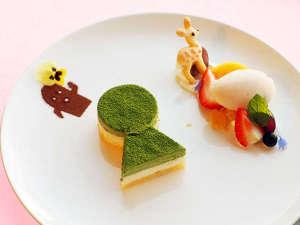 ~いにしえのヤマトに想いを馳せて~デザートをお楽しみください。(※写真はイメージです。)