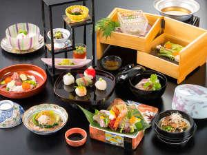 奈良の郷土料理で贅を尽くしたプレミアム会席(※写真はイメージです。)