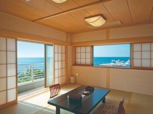 ★角部屋から日本海を望む! 新館 松石庵(例)