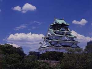 夏の大阪城