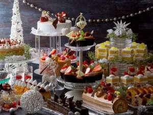 11/1より大人気スイーツビュッフェにクリスマススイーツが加わりました!(写真はイメージです)