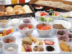 【朝食】和・洋・中50種類以上お料理