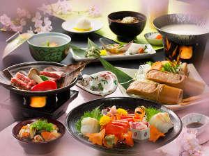 「会津郷土会席料理」のイメージ♪「春」の一例になります♪※季節・仕入れにより内容が異なります。