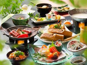 「会津郷土会席料理」のイメージ♪「夏」の一例になります♪※季節・仕入れにより内容が異なります。