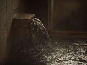 温泉は掛け流しです(加温はしております)