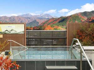 ◆空中庭園露天風呂(紅葉)