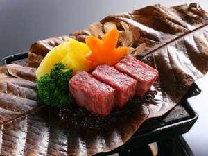 <料理の一例>福島牛旬菜陶板焼