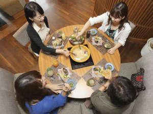 【菜す乃】見た目にも美しく、美味しい料理に会話も弾む♪