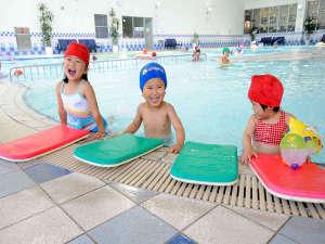 一年中利用できる室内温水プール♪お天気を気にする必要ありません!