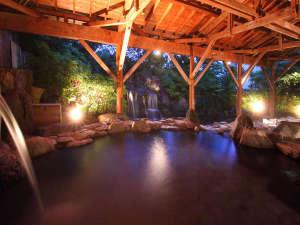露天風呂◆那須有数の広さを誇る温泉露天風呂12:00~25:00 / 4:30~10:00 サウナあり