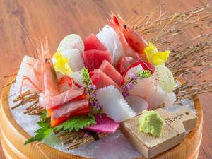 【和匠ダイニング 菜す乃】ディナー「本日の御造り五種盛り合わせ」