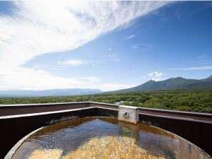 那須連山を一望できる貸しきり露天風呂