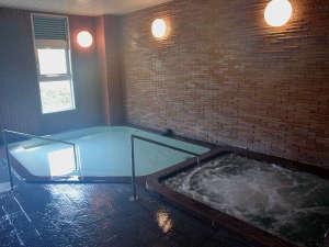 天然温泉大浴場です。