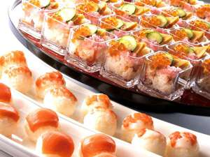 【ディナーブッフェ】手まり寿司&カップ寿司