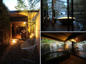 2011年4月:別邸内庫所ご宿泊者専用の無料貸切露天風呂が2棟オープン!