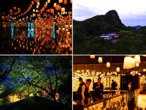 御船山の自然の森とアートの森とがつながった、新生、御船山楽園ホテル。