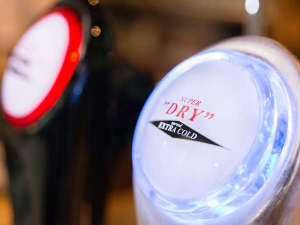 *レストラン/当館は『アサヒエクストラコールド認定店★』盛岡より北で飲めるのはここだけ!