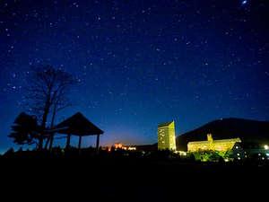 夏の夜に輝く満天の星たち!標高が高く、空気の澄んだ安比高原ならでは