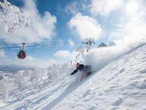 【スキー場】北海道有数のパウダースノーが舞い降りるゲレンデ