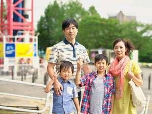 【夏休み】のお出かけは家族で遊園地♪広い遊園地で遊んで笑って思い出いっぱい!