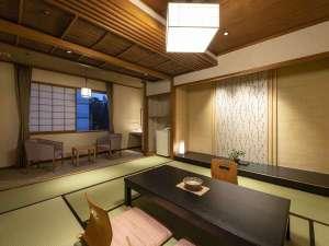【リニューアル本丸和室】部屋毎に異なる和の設え。和モダンテイストな趣