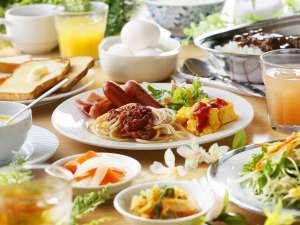 朝食ビュッフェ(07:00-10:00)