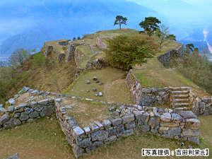 竹田城址。 雲海が見れなくても、山頂(城跡)からの眺めは、絶景!
