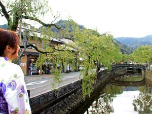 1300年の歴史をもつ城崎温泉です!!