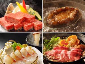【選べるお膳】夏の大人気企画!ステーキ、すきやき、アワビに鯛しゃぶ、一人一人選べる嬉しいお料理プラン
